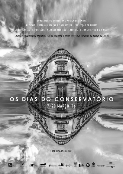 dias do conservatorio e-flyer